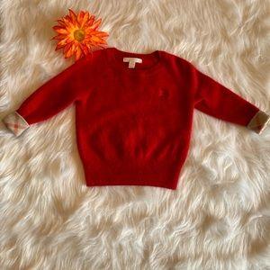 Burberry Children cashmere sweater with cuff